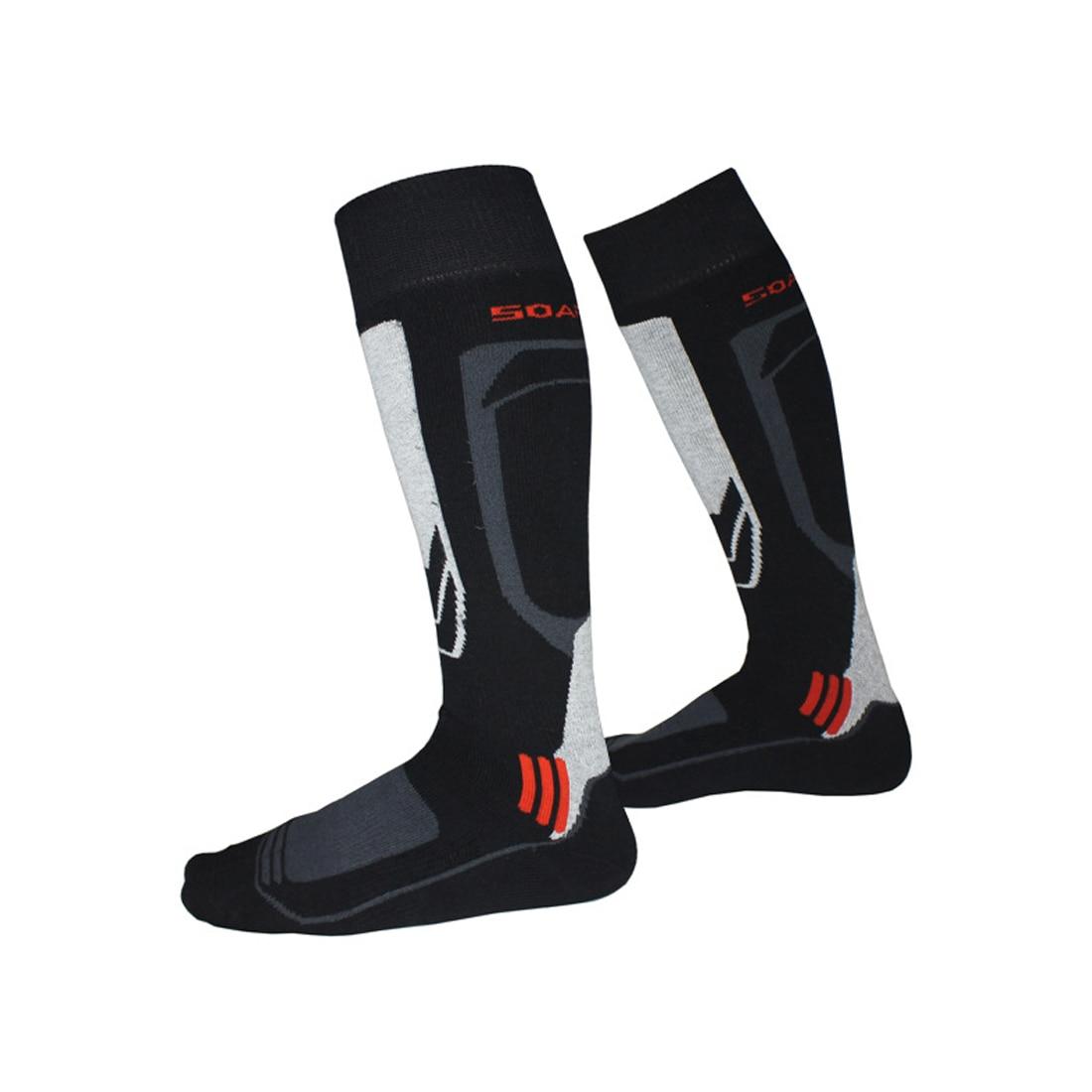 Одежда высшего качества зимние теплые Для мужчин Термальность лыжный Носки толстые хлопчатобумажные спортивные сноуборд Лыжный Спорт Фут...