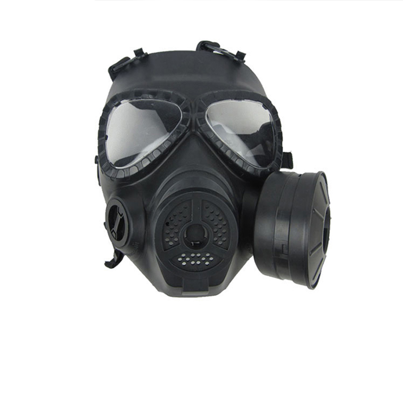 Paintball Tactical Airsoft Game CS Army War BB Game Face Protection Safety Mask Guard Toxic Gas Mask цены онлайн
