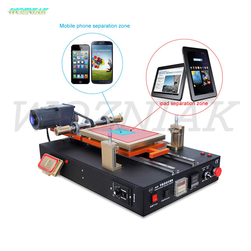 Wozniak Heating platform for phone and for ipad eparating machine for biggest 14 inch lcd screens Refurbished equipment tools