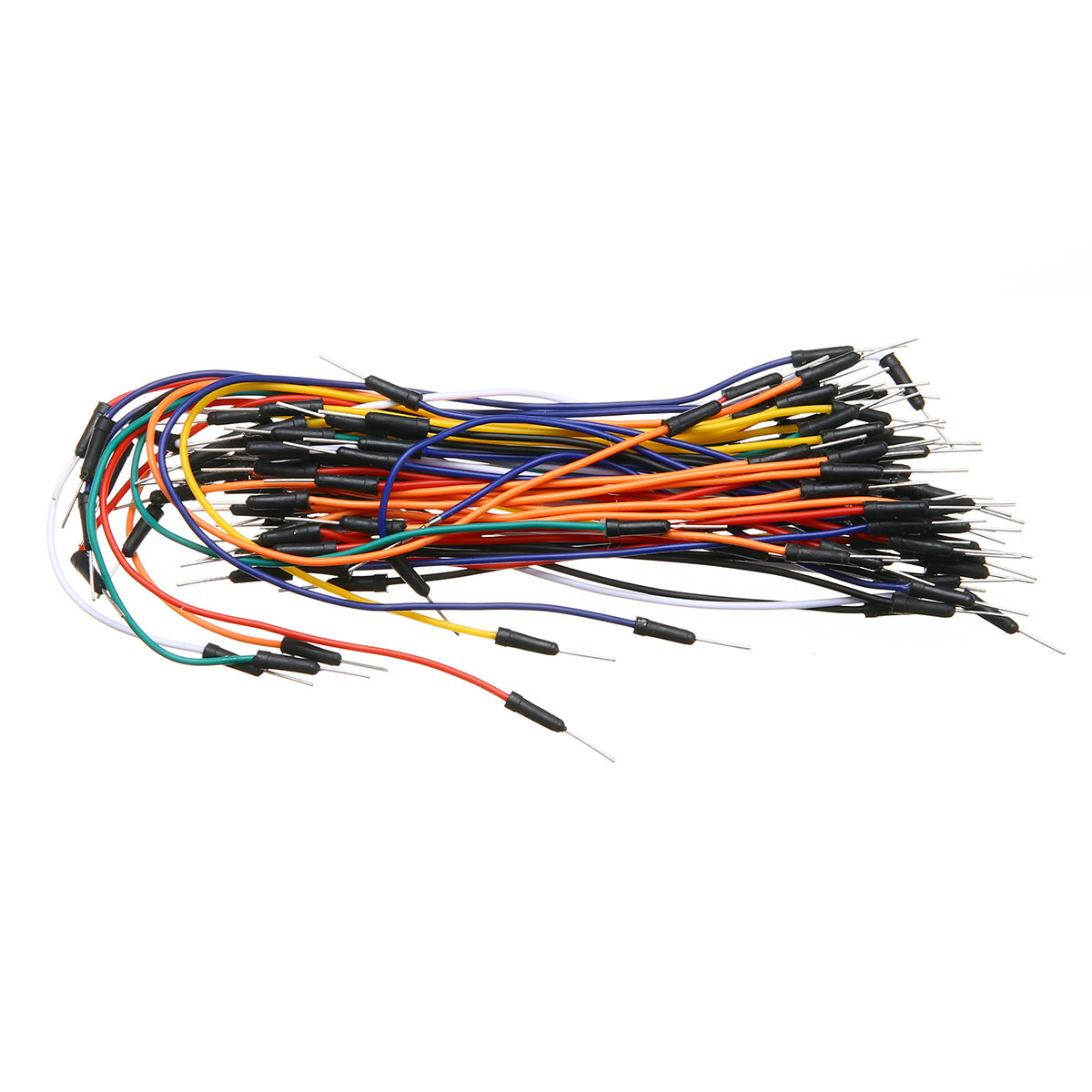 65pcs/Lot Solderless Flexible Breadboard PCB Jumper Cable Wires Set Male to Male Mayitr Electrical Connecting Wires wire