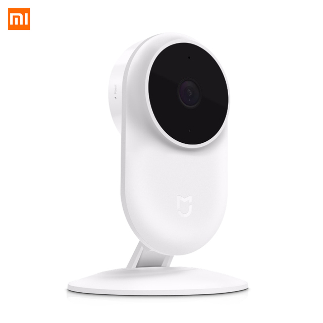 Xiaomi Mijia 1080P IP kamera 130 derece FOV gece görüş 2.4Ghz Xiaomi ev kiti güvenlik monitörü CCTV