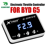 Car Electronic Throttle Controller Racing Accelerator Potent Booster For BYD G5 Tuning Parts Accessory