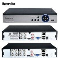 Hamrolte CCTV DVR 4CH/8CH 5MP AHD TVI CVI Analog 5IN1 Hybrid Video Recorder Für 5MP/4MP AHD kamera Bewegungserkennung DH Wolke P2P-in Überwachungsvideorekorder aus Sicherheit und Schutz bei