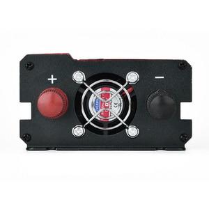 Image 5 - 12v 110v 2000W Car Inverter LCD Voltage Display 12v to 110v 4 USB Charger Ports Auto Power Inverter Dual AC Plugs