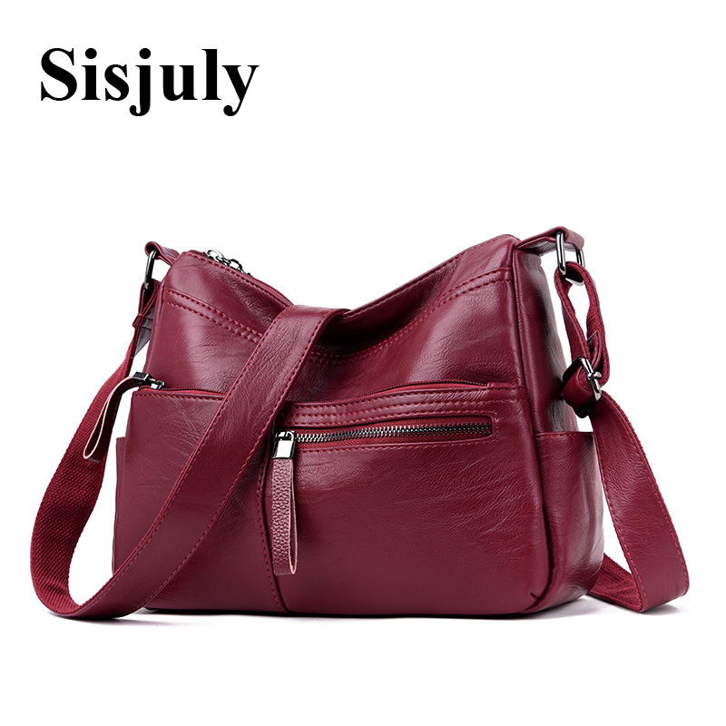 2018 High Quality Sheepskin Leather Luxury Handbags Women Bags Designer Zippers Crossbody Bag For Women Messenger Bag Lady Tote arnagar genuine leather luxury women messenger bags new designer handbags high quality lady tote bag crossbody bag for women page 1