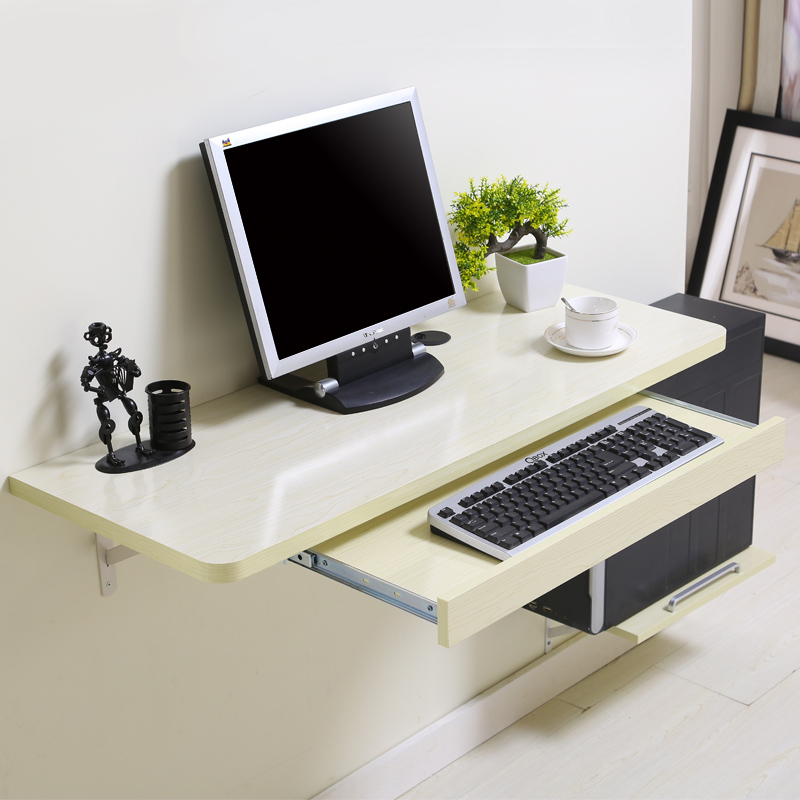 saving space products saver harbour desk black computer folding housewares