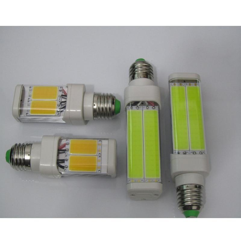 2 stks/partij 3 W G24 G23 E27 COB led PL verlichting ...