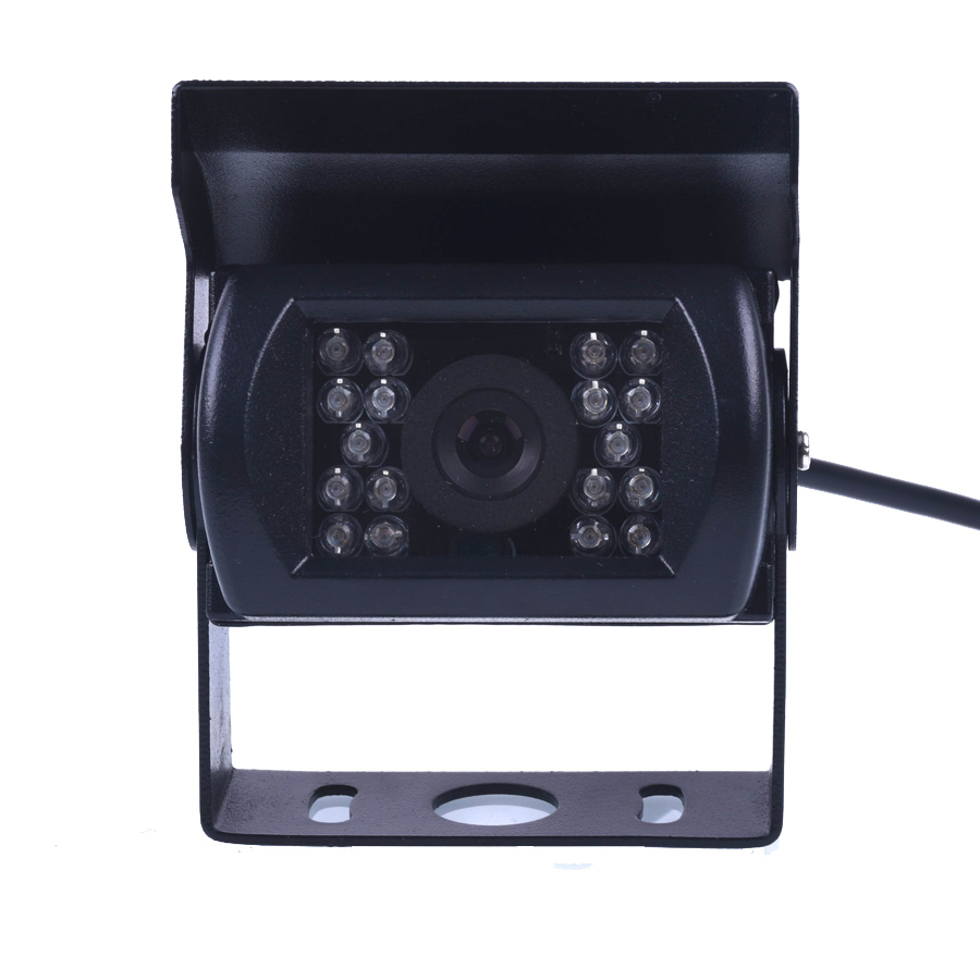 HD CCD 120 grados ir visión nocturna impermeable cámara de visión trasera CMOS bus camión cámara para autobuses y camiones