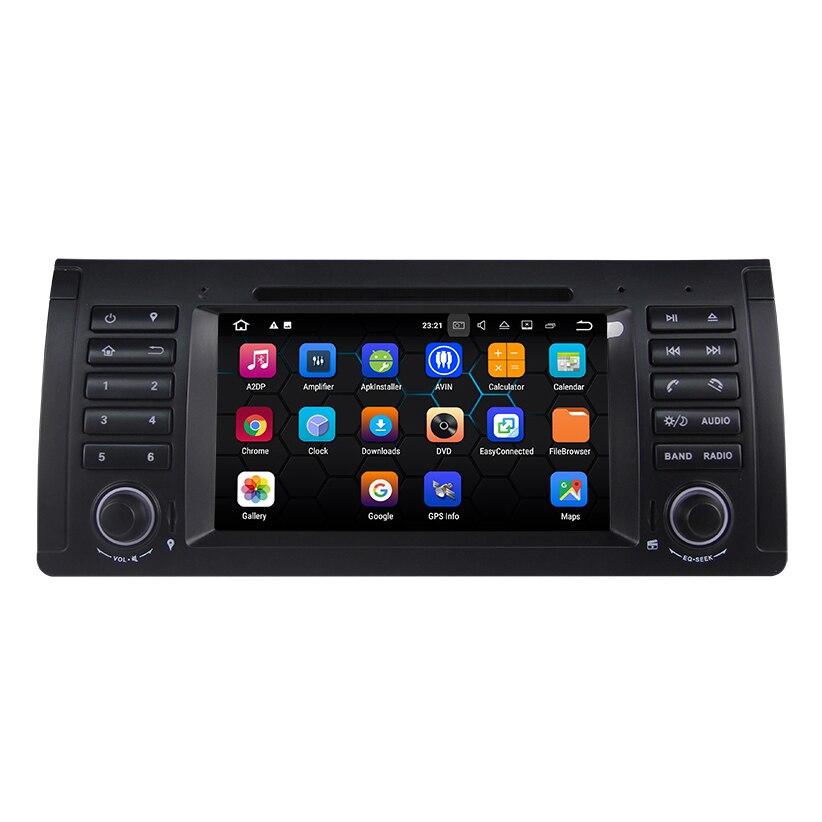 Lecteur DVD de voiture système Android 7.1.2 pour BMW série 5 E39/BMW X5 E53/BMW M5 avec lecteur multimédia de voiture de Navigation GPS