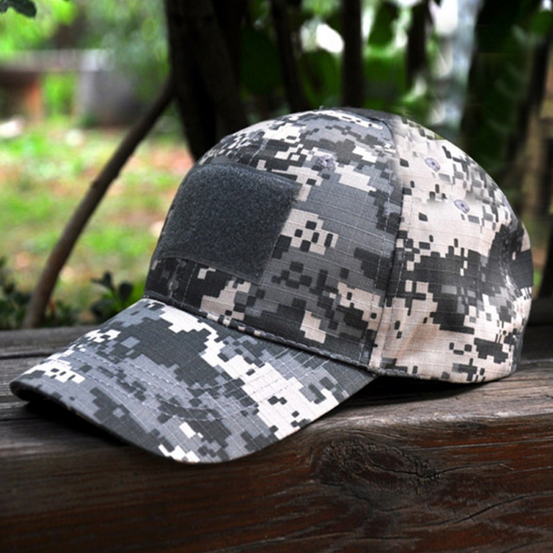 Print Camo Baseball Caps Digital Camo Camouflage Flag Patch Summer Casual  Baseball Cap Men Women Tactical Unisex Hats One Size-in Baseball Caps from  Apparel ... 90447ace3a3