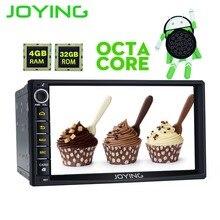 Радуясь головное устройство 2 Din 4 ГБ Оперативная память Android 8,0 универсальный автомобильный Радио Стерео gps мультимедийный плеер ленты Регистраторы Поддержка OBD2 Carplay