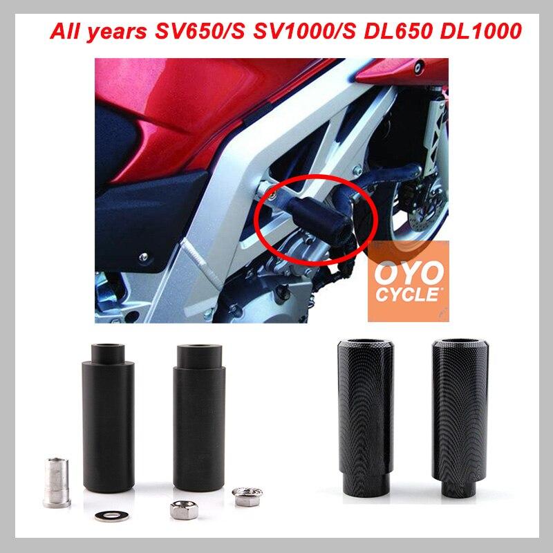 Cadre Curseur Pad Pour Suzuki SV650 SV650S SV1000 SV1000S DL650 DL1000 SV 650 650 s Moto Crash Pad de Protection En Baisse