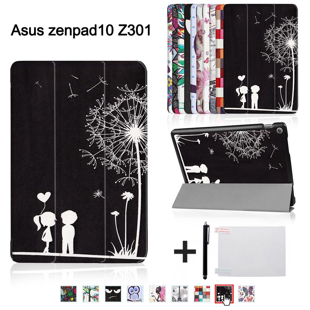 Printed funda cover for ASUS Zenpad 10 Z301MLF Z301ML Z301 10.1