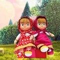 Маша и Медведь Мягкая Игрушка День Рождения Популярные Плюшевые Домой Постельные Принадлежности Декоры Куклы Дети