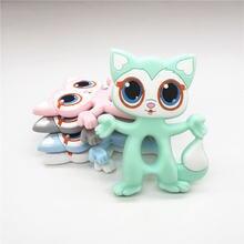 Chenkai 5 шт без бисфенола А силиконовая игрушка в виде кошки