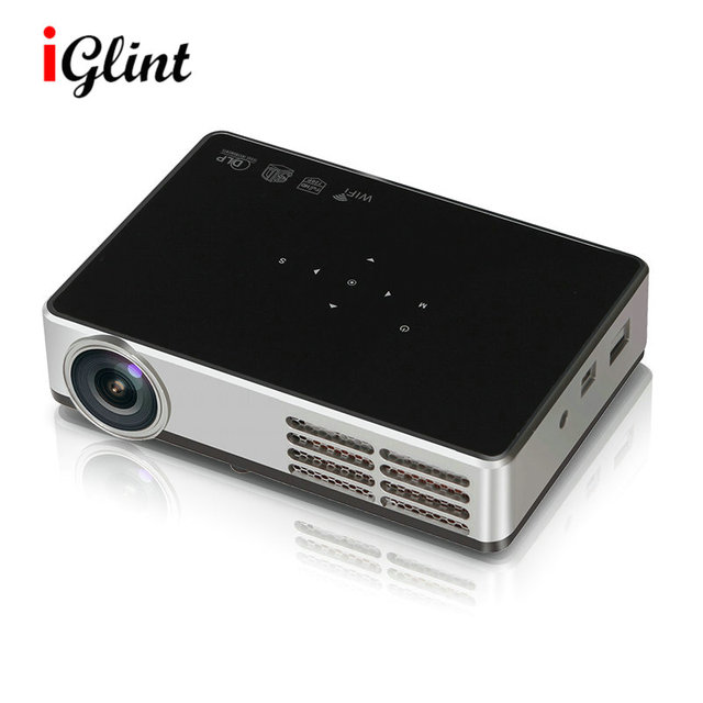 fb795555298ccb IGLINT LED9 DLP-600W 3D Android 4.4 Projector DLP WIFI Wireless Projector  1500 Lumens 1280*800 Home Theater Mini Video Projector