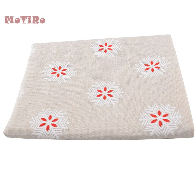 Arts,crafts & Sewing Purposeful Motiro,printed Cotton Linen Of Meter Fabric,floral Series Cloth For Quilting/sewing/sofa/table/curtain/cushion/tissue/bag/cover