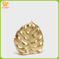 2017 new LXYY MOULD gold leaf candle silicone mold home decoration silicone mold European DIY gypsum mold