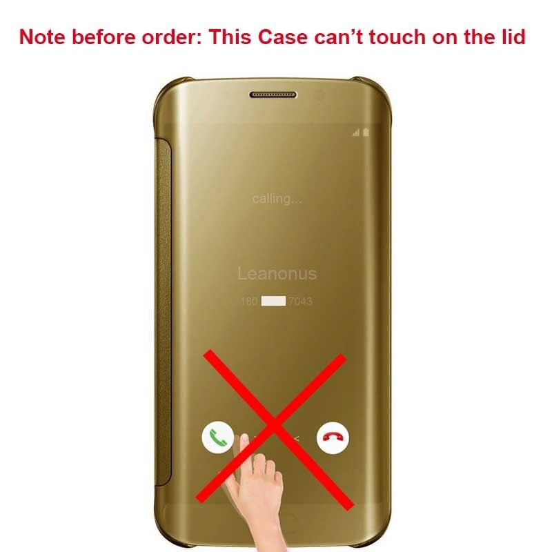 ᑎ Smart Mirror Case For Samsung Galaxy S10e S10 Plus S10 5g Cover