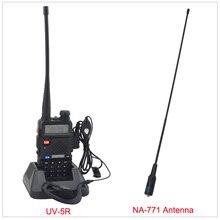 Baofeng радио двухдиапазонный UV-5R портативная рация радио 136-174/400-520 мГц двухстороннее радио с бесплатным наушник и Бесплатная NA-771 антенны
