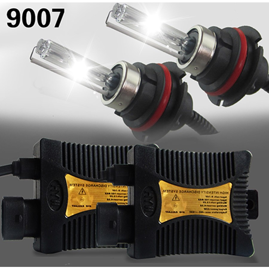 55W 9007 HB5 HL HID Xenon Headlight Conversion KIT Bulbs Ballast 12V Autos Car lights Lamp Automoveis 4300K 3000K free ship slim hid xenon ballast 880 4300k headlight kit conversion bulbs 35w [c476]