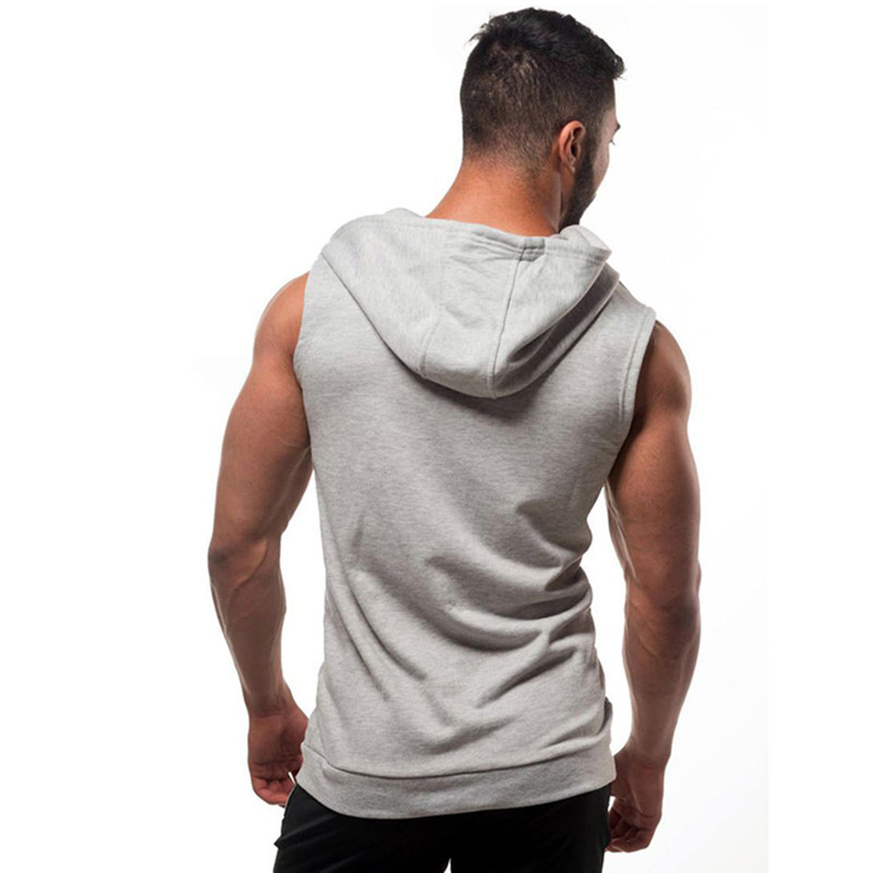 Cotton Bodybuilding Hoodie for Men Mens Clothing Jackets & Hoodies
