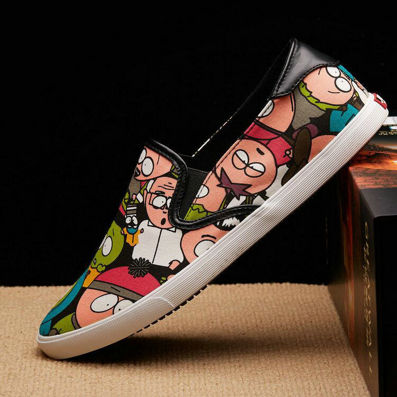 New arrival Male Fashion Flats Loafer Mens Breathable High Quality Canvas Casual