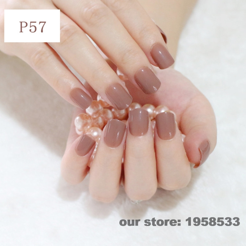 Light Brown Acrylic Nail Designs