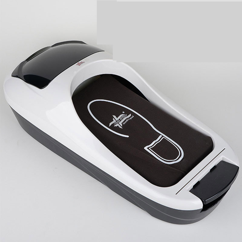 цены Automatic Shoe Cover Dispenser Genuine Office Household Disposable Shoe Shoes Foot Kit Film Machine Molding Machine