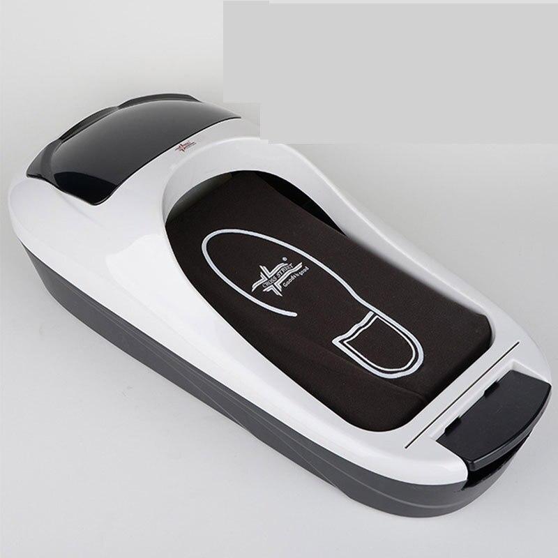 Dispensador automático de la cubierta del zapato máquina de moldeo de la máquina de película del juego de pies