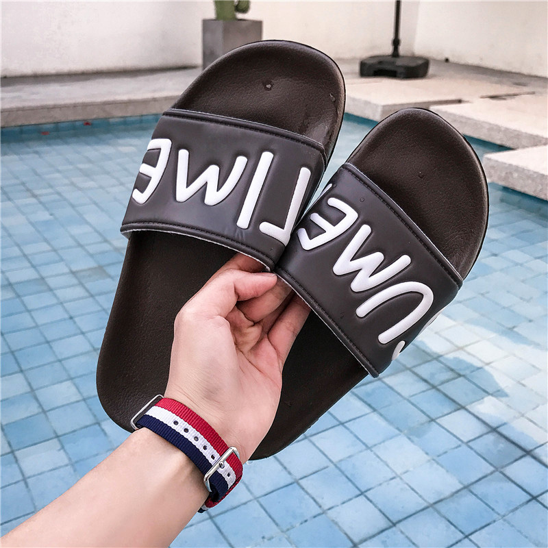 Women Slides Flip Flops Sandals Fashion 2017 Brand Unisex Indoor Home Slippers Casual Summer Comfortable Woman Flats Beach Shoes plush winter slippers indoor animal emoji furry house home with fur flip flops women fluffy rihanna slides fenty shoes
