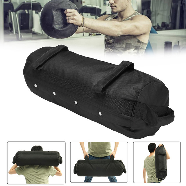 4 Pcs/Set Weightlifting Sandbag Heavy  Sand Bags Sand Bag MMA Boxing  Military Power Training Body Fitness Equipment 6