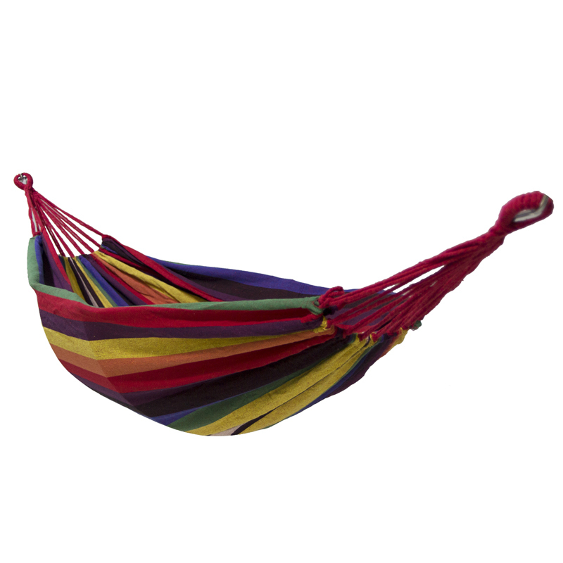 Euro Standard Single Canvas Hammock Garden Portable Travel Sleeping Hamak Hamaca Rede Patio Hamac Outdoor Furniture 200*80cm outdoor double hammock portable parachute cloth 2 person hamaca hamak rede garden hanging chair sleeping travel swing hamac