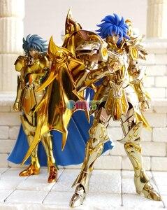 Image 4 - CMT отличные игрушки Ex Gemini Сага душа золота Сен Сейя металлическая Броня Миф Ткань Золото фигура аниме