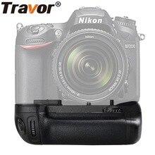 TRAVOR вертикальный Батарея ручка держатель для Nikon D7100 D7200 DSLR камеры работать с EN-EL15 батареи как MB-D15 MBD15 MB D15