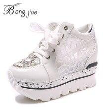 c19aec317 Женская обувь 2018 летние со стразами обувь на платформе женская обувь на  шнуровке каблук 10 см