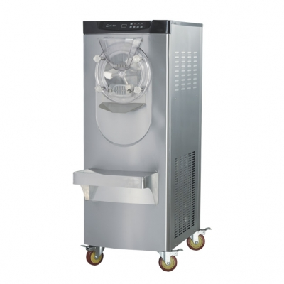 10.6L Commercial Vertical Hard ice cream machine,4HP compressr 220v/50hz ice cream maker
