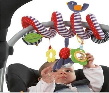 Коляска игрушечные машинки на продажу Музыкальный многофункциональный автомобиль / кровать / кроватка Висячий колокольчик Новорожденный ребенок Образование Погремушки Мобильные игрушки для ребенка