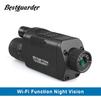 WiFi Digital Night Vision Monocular 3 5 10 5 X 32 HD Infrared Telescope With 1