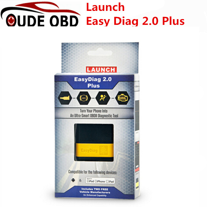 100 Original Launch X431 EasyDiag 2 0 Plus Easy Diag 2 0 For Android IOS With