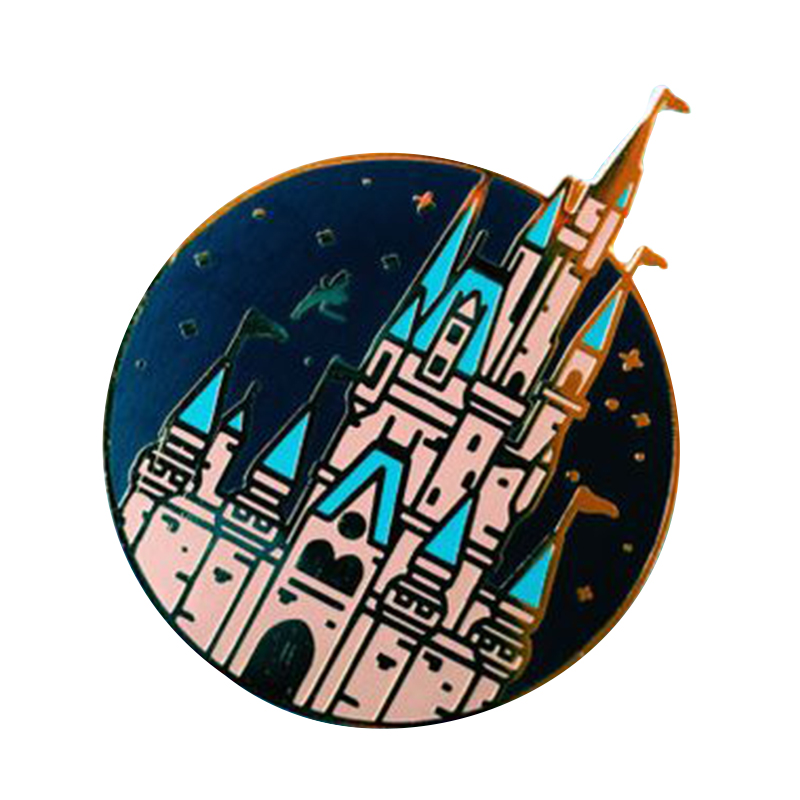 Kawaii Fairytale Castle Brooch Starry Night Pin Romantic Gift For  Girlfriend Unique Hat Jeans Badge