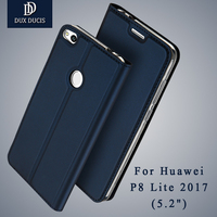 Huawei P8 Lite 2017 Case Dux Ducis Leather Flip Case Huawei P8 Lite 2017 Case Wallet