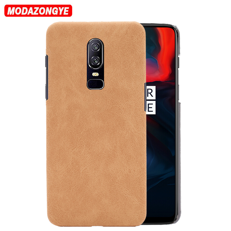 Oneplus 6 Case Oneplus 6 Case 6.28 Luxury Hard PU Leather Phone Case For Oneplus 6 One Plus 6 Six A6000 A6003 Case Back Cover