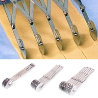 Multifunction Stainless Steel Dough Divider 3 5 7 Wheel Cutter Roller Tools Pasta Rocker Pizza Pastry