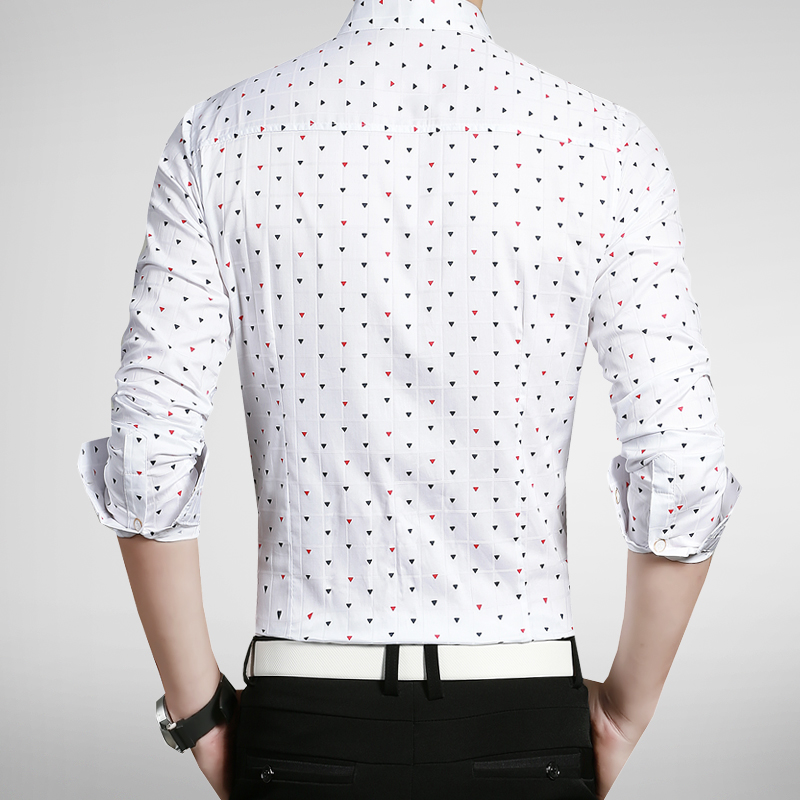 b5ad55c82f7 Hot Sale 2016 New Fashion Casual Men Shirt Long Sleeve Print Slim Fit Shirt  Men Designer Cotton Chinese Shirts Mens Clothes 5XL-in Casual Shirts from  Men s ...