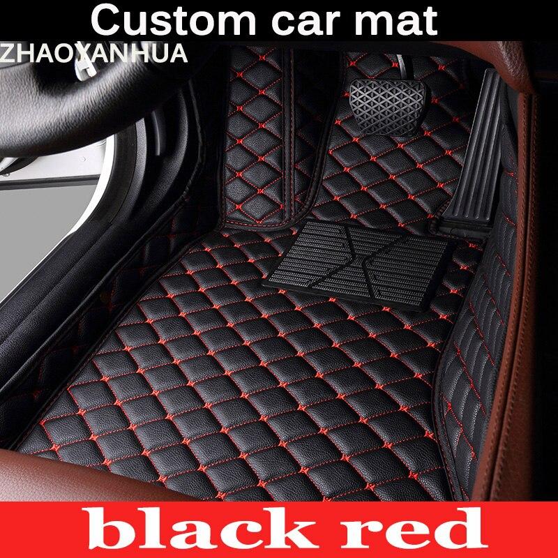 Car floor mats for mercedes benz w203 w204 w205 c class for Mercedes benz floor mats e350