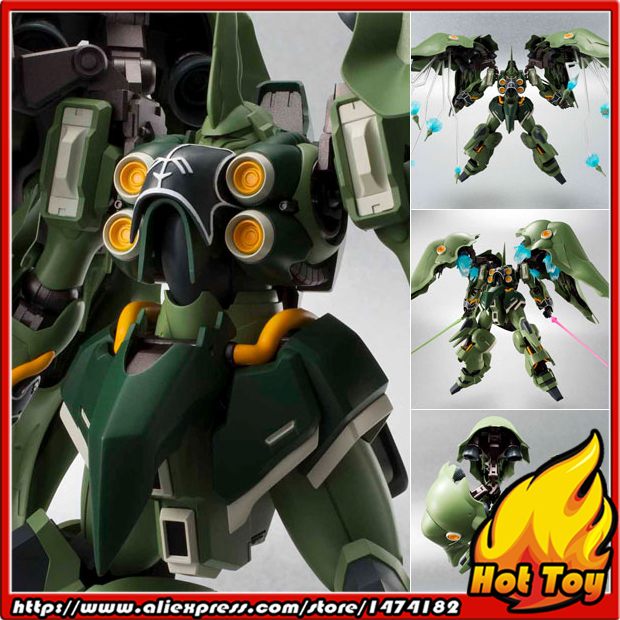 100% Original BANDAI Tamashii Nations Robot Spirits Action Figure No.157 - Kshatriya from Mobile Suit Gundam Unicorn original bandai tamashii nations robot spirits exclusive action figure rick dom char s custom model ver a n i m e gundam