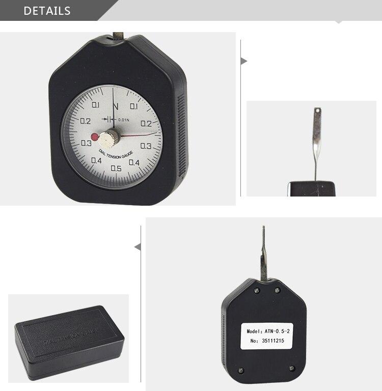 6d098668a77 Click here!! Dial gauge tension 0.5N tensiómetro valor indicadores doble  agujero (ATN-0.5-2)