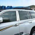AITWATT Edelstahl Fenster Center Säule Auto Styling Auto Zubehör Trimmt 10 Pcs Für Toyota Prado FJ150 FJ 150 2010 zu 2016-in Chrom-Styling aus Kraftfahrzeuge und Motorräder bei