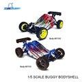 Rc car repuestos carrocería para hsp 1/5 gas buggy hsp artículo n° 94071 (parte no. 07191, 07192)